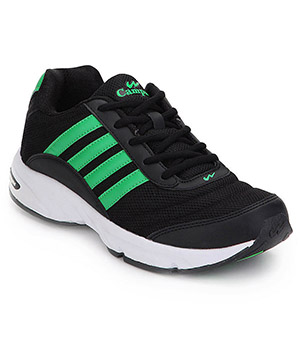Campus 3G-378 Black Green Shoes
