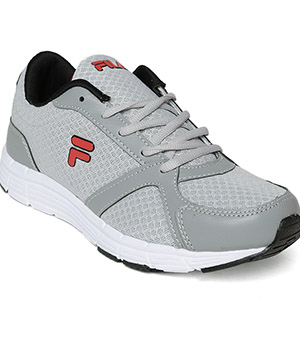Fila Roman Grey Red Shoes