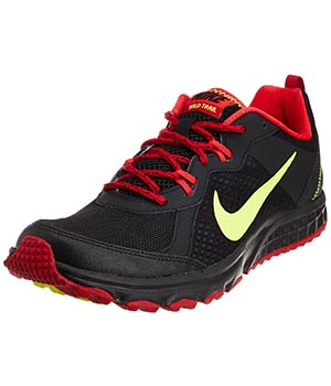 Nike Wildtrail Black Red Shoes