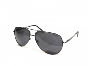 Large Size Grey Aviator Sunglasses 1002Gr
