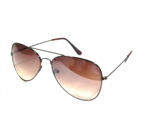 Brown Aviator Sunglasses For Men 27Br