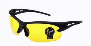 Yellow Night Vision Driving Sunglasses