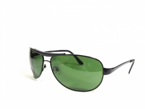 Black Aviator Sunglasses For Men 3324Bk