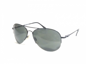 Black Aviator Sunglasses For Men With Polycarbonate Lens