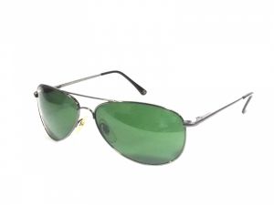 Grey Aviator Sunglasses For Oval Face