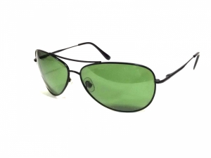Large Black Aviator Sunglasses 8018
