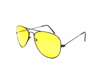 Hd Vision Night Driving Aviator Sunglasses