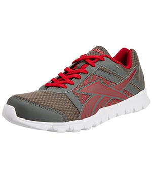 Reebok Country Ride Grey Red White Shoes