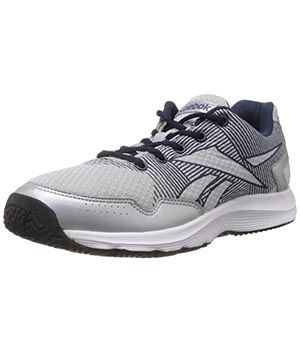 Reebok Performer Silver Navy White Shoes