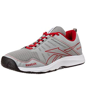 Reebok Real Active Grey Red White Shoes