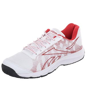 Reebok Restart White Black Red Shoes