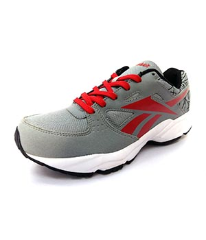 Reebok Tech Speed Grey Red White Shoes