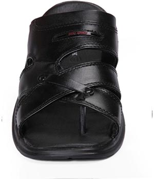 Red Chief RC 1326 Black Sandal