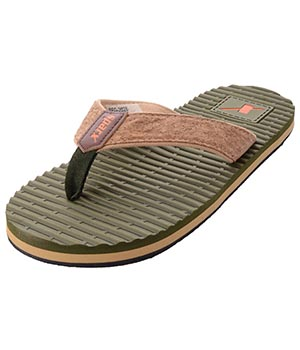 Sparx SFG-2028 Olive Green Slipper