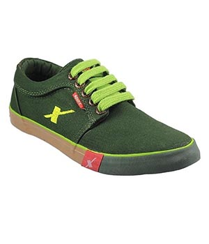 Sparx SM-175 Olive Canvas Shoes