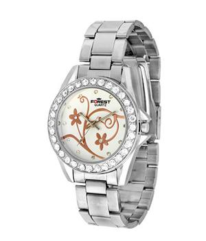 Forest Silver Analog Watch 017 SD292