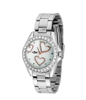 Forest Silver Analog Watch 023 SD294