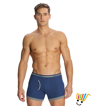 Jockey Elance Mens Trunk 1017 Mid Blue