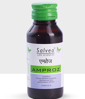 Salveo Life Sciences Amproz Syrup  60Ml