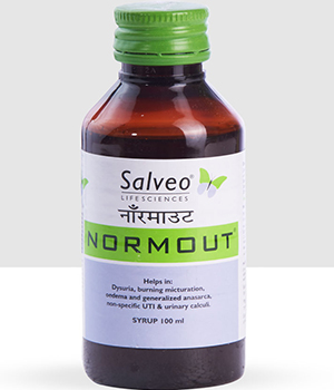 Salveo Life Sciences Normout Syrup  100Ml