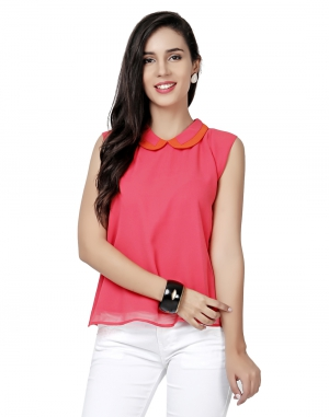 EAVAN Pink  Regular Fit Top EA1505