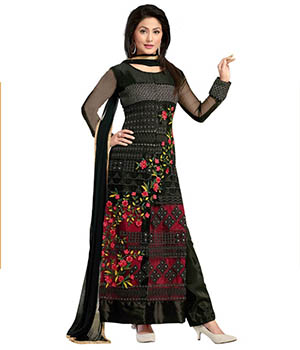 Riti Riwaz Semi stitched Long Suit AW15BS-RTS012