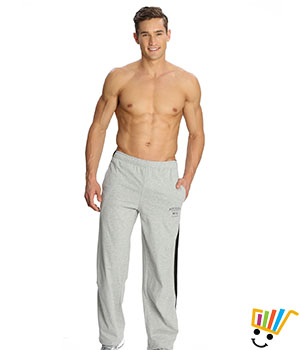 Jockey Solid Sport Mens Track Pants 9508 Grey