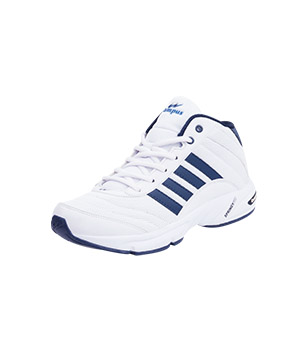 Campus Bond 3G-411 White Blue Sport Shoe