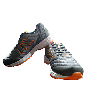 Campus Cubic 3G-425 Grey Orange Sport Shoe