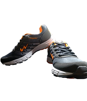 Campus Napier 3G-8214 Grey Orange Sport Shoe