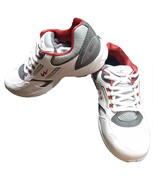 Campus Rewise SR-206 White Grey Rust Sport Shoe