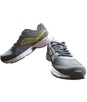Campus Soccer 3G-423 Grey Yellow Sport Shoe