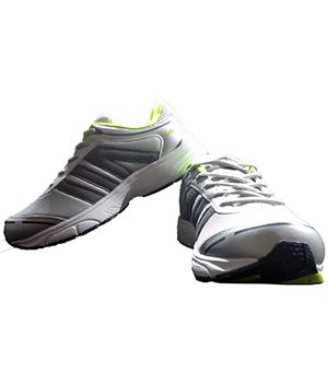 Campus Swiss 3G-410 Grey Silver Green Sport Shoe