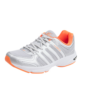 Campus Turbo 3G-403 Silver Orange Sport Shoe