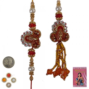 Send Stylish Indian Rakhi Gifts to Bhaiya Bhabhi 161
