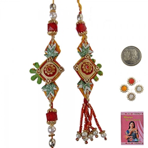 Buy Exclusive Cheap Indian Bhai Bhabhi Rakhi Gift 162