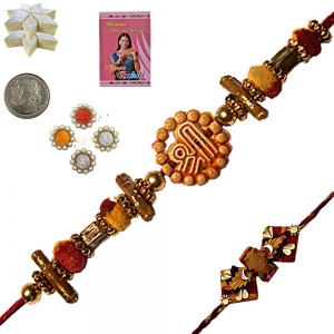 Send Beautiful Raksha Bandhan Beads Rakhiee 115