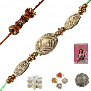 Rakshabandhan Colorful Beads Rakhi for Brother 119