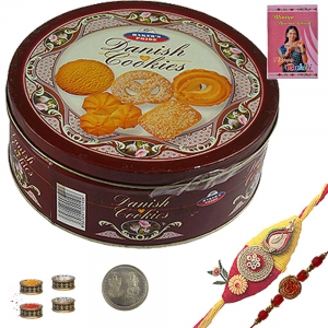 Exclusive Rakhee n Imported Butter Cookie Gift 109