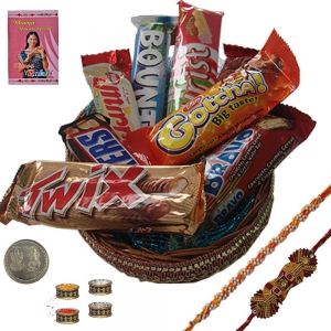 Send Raksha Bandhan 200Gm Assorted Chocolate Box 111