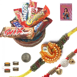 Send Raksha Bandhan Assorted Chocolate Gift Box 214