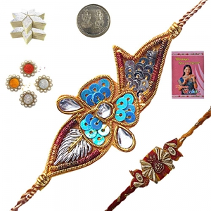 Shopping Best Rakhi Gift n 400Gm Kaju Katli Sweet 107