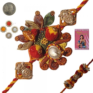 Send Free Online Exquisite Rakhi Gift to Brother 122