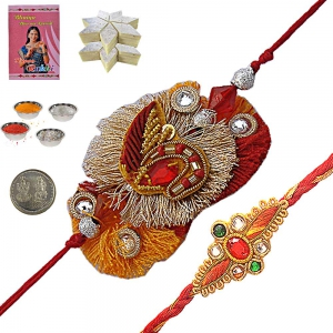 Send Attractive Indian Rakhee Gifts to Brother 139