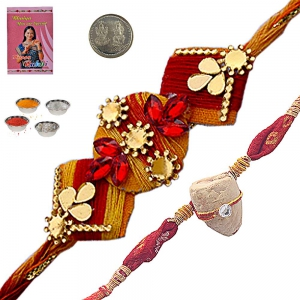 Buy Indian Handcrafted Ethnic Rakhiee Gifts 149