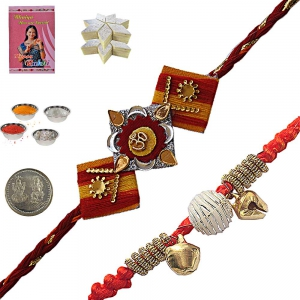 Send Brother Handcrafted Rakhi Festival Gifts 153