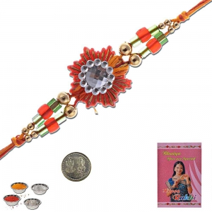 Jodhpuri Style Fashionable Fancy Design Rakhi Gift 304