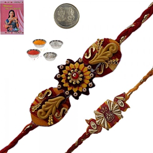 Admirable Handcrafted Rakhee Gifts to Brother 108