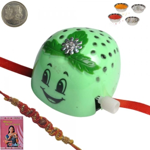 Sending Toy Cartoon Rakhi Gift for Kid Brother 161
