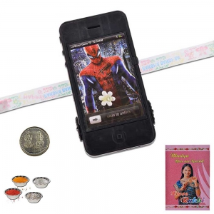 Stylish Mobile Phone Design Modern Cute Rakhi Gift 311